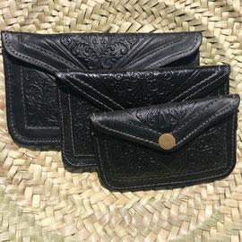 Zwarte portemonnee